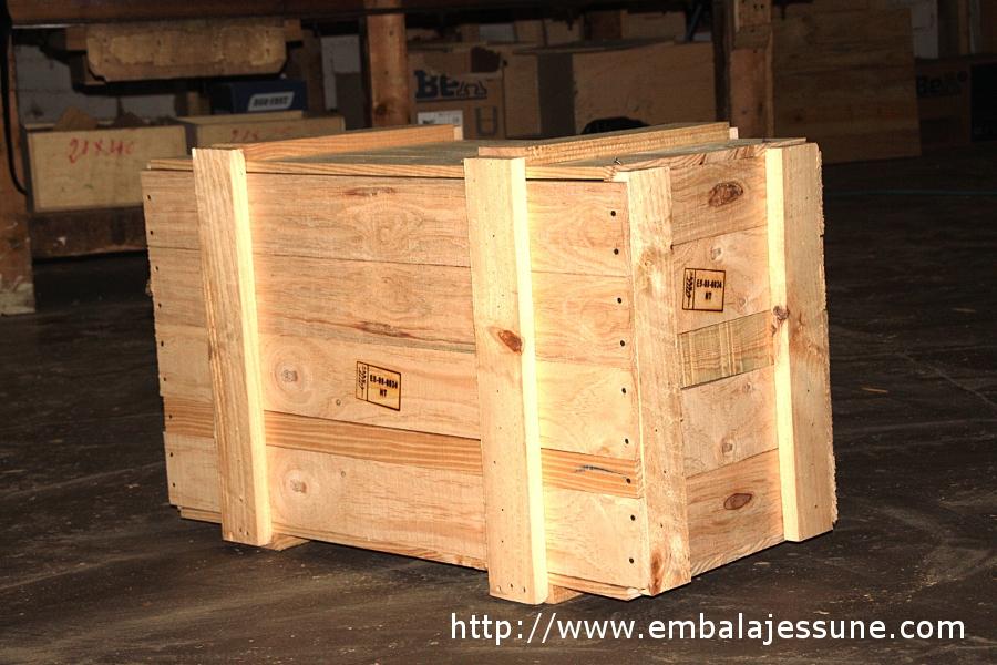 Embalajes de madera en barcelona embalajes su s a - Cajas madera barcelona ...