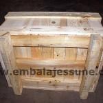 embalaje caja paletizada